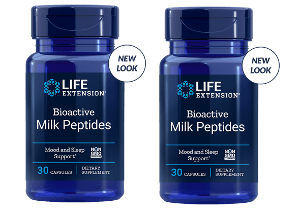 Life Extension Bioactive Milk Peptides, 30 Capsules, 2-pack