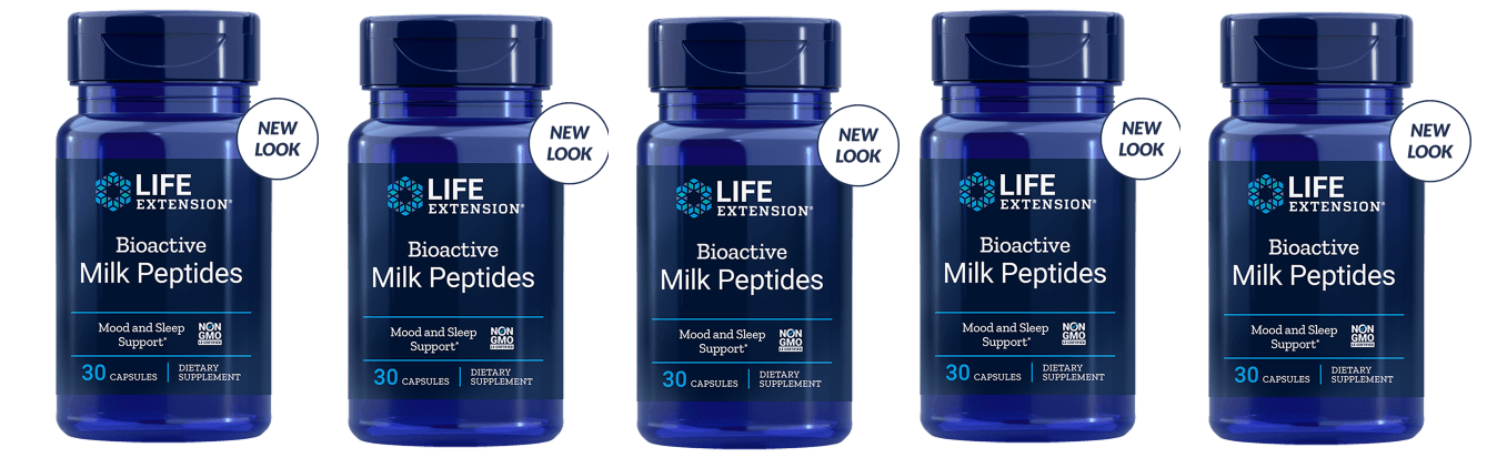 Life Extension Bioactive Milk Peptides, 30 Capsules, 5-pack