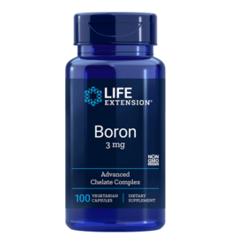 Life Extension Boron,  3 mg 100 vegetarian capsules