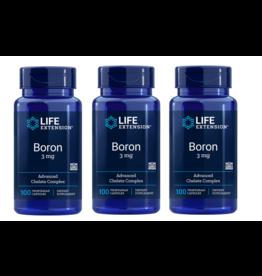 Life Extension Boron, 3 Mg 100 Vegetarian Capsules, 3-pack