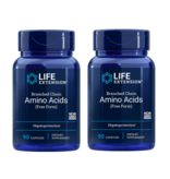 Life Extension Branched Chain Amino Acids, 90 Capsules, 2-pack