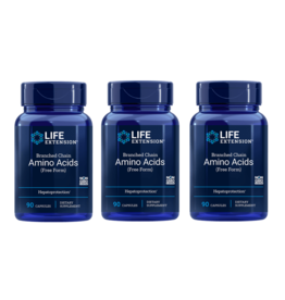 Life Extension Branched Chain Amino Acids, 90 Capsules, 3-pack