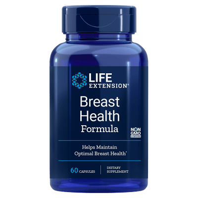 Life Extension Breast Health Formula, 60 Capsules
