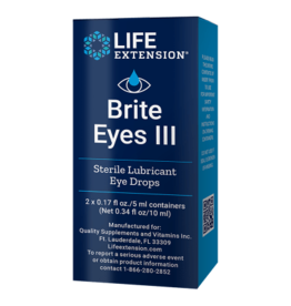 Life Extension Brite Eyes III, 2 vials (5 ml each)