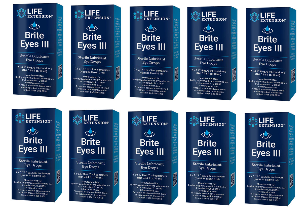 Life Extension Brite Eyes III, 10-pack