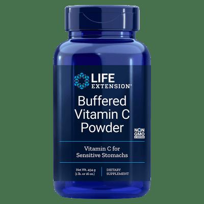 Life Extension Buffered Vitamin C Powder, 454 grams (16 oz)