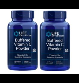 Life Extension Buffered Vitamin C Powder, 454 Grams (16 Oz), 2-pack