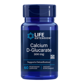 Life Extension Calcium D-Glucarate, 200 mg 60 vegetarian capsules