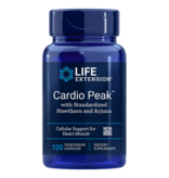 Life Extension Cardio Peak with Standardized Hawthorn and Arjuna, 120 vegetarian capsules