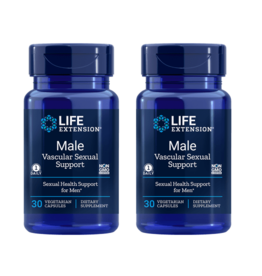 Life Extension Male Vascular Sexual Support, 30 Vegetarian Capsules, 2-packs