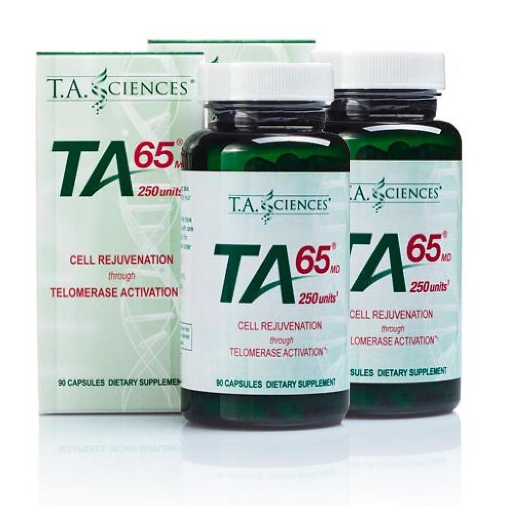 T.A. Sciences BUNDLE: 2 x TA-65MD 250IE (90 capsules)