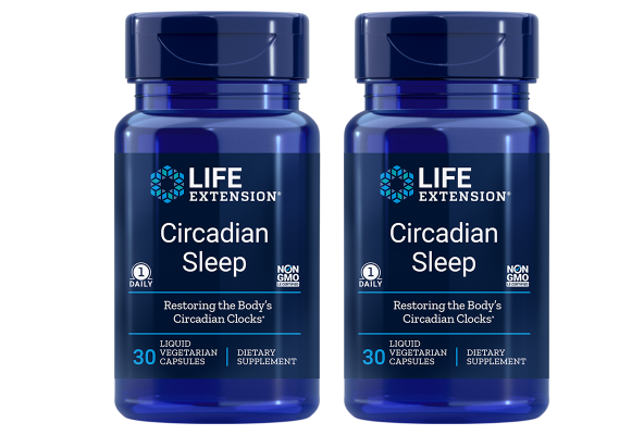 Life Extension Circadian Sleep, 30 Capsules, 2-packs