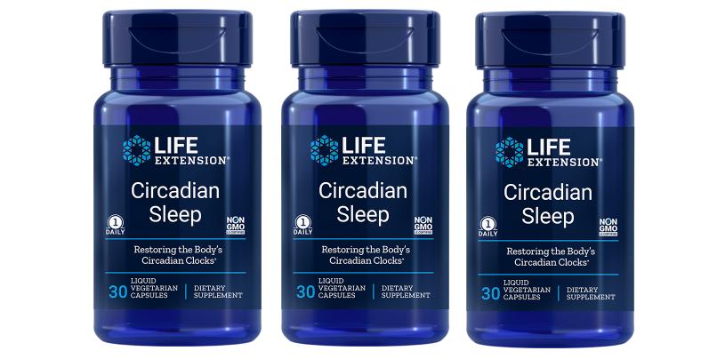Life Extension Circadian Sleep, 30 Capsules, 3-packs