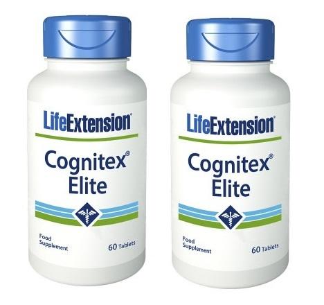 Life Extension Cognitex Elite, 60 Tablets, 2-packs
