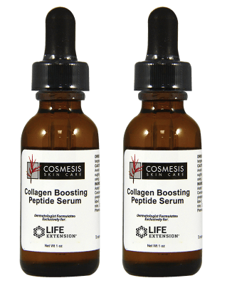 Cosmesis Collagen Boosting Peptide Serum, 1 Oz, 2-pack
