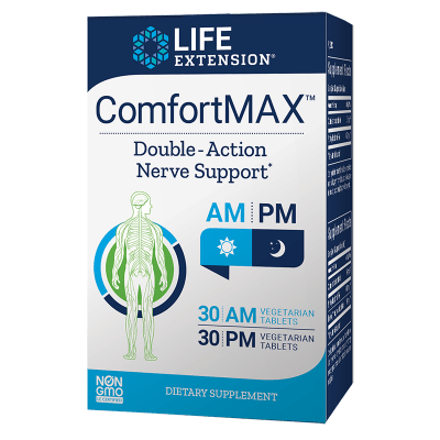 Life Extension ComfortMAX™, 30 AM Vegetarian Tablets, 30 PM Vegetarian Tablets