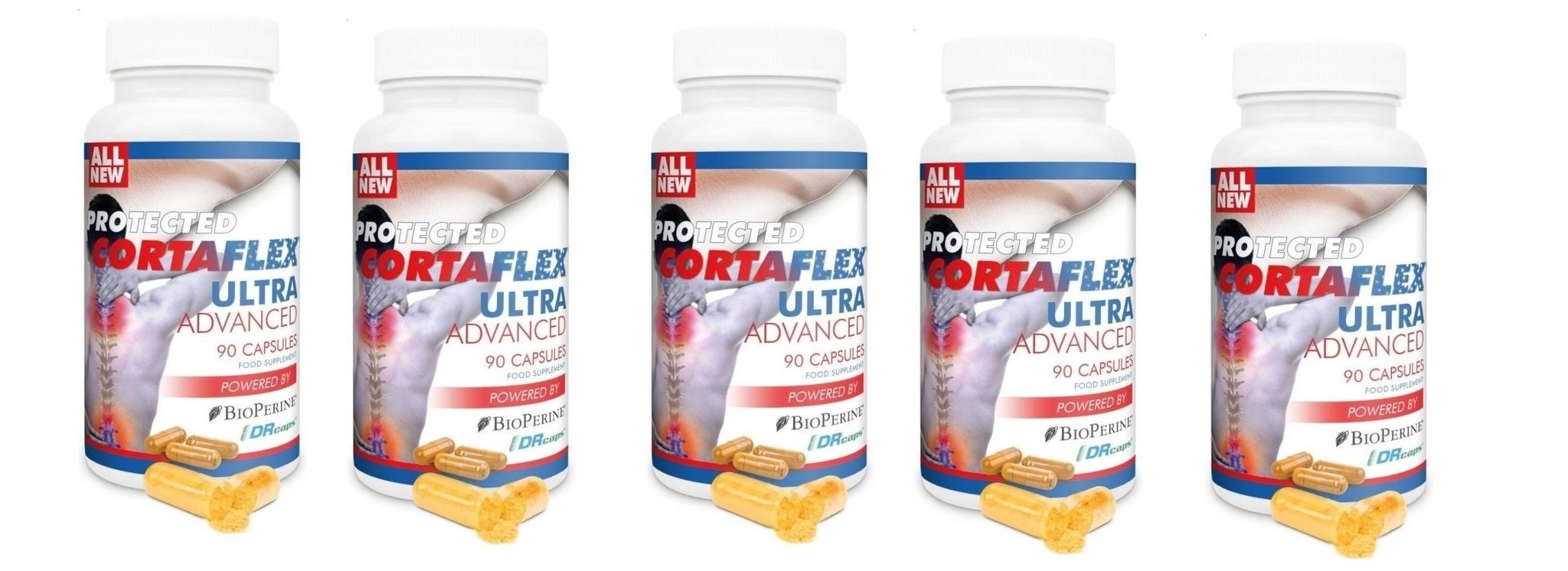 Dental Supps Protected Cortaflex Ultra Advanced, 90 Capsules, 5-packs