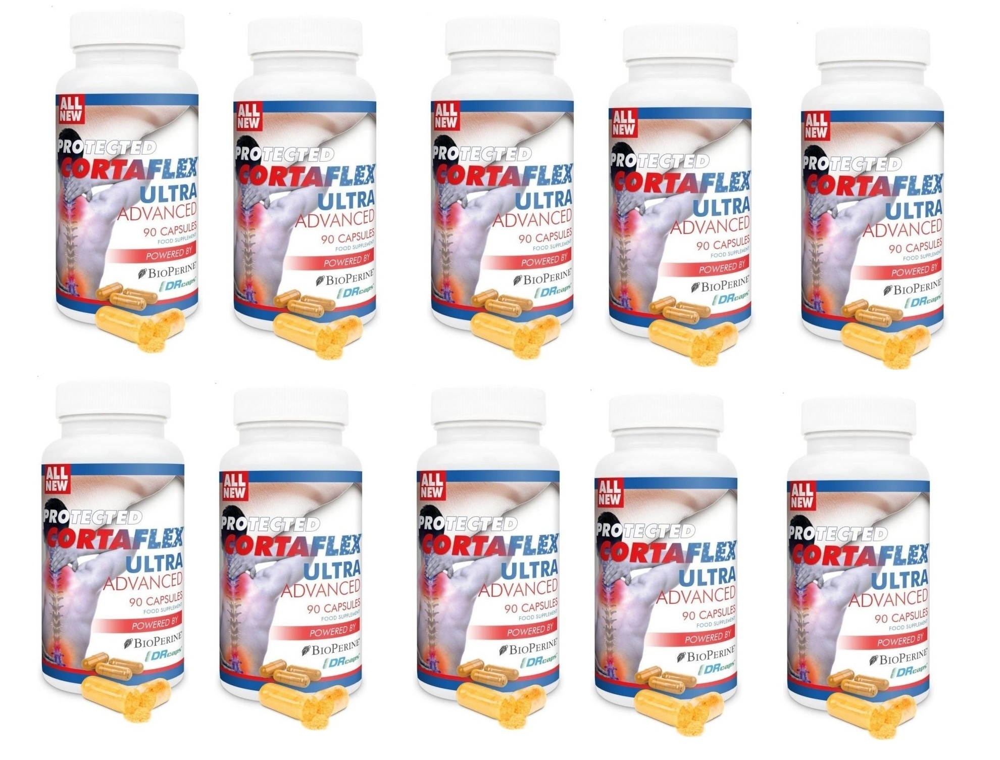 Dental Supps Protected Cortaflex Ultra Advanced, 90 Capsules, 10-packs