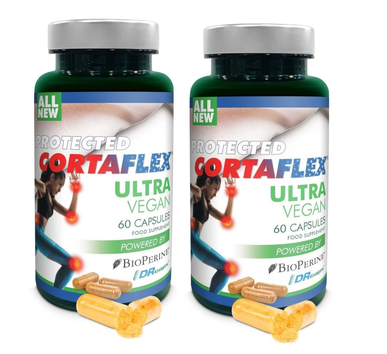 Dental Supps Protected Cortaflex Ultra Vegan, 60 Capsules, 2-packs