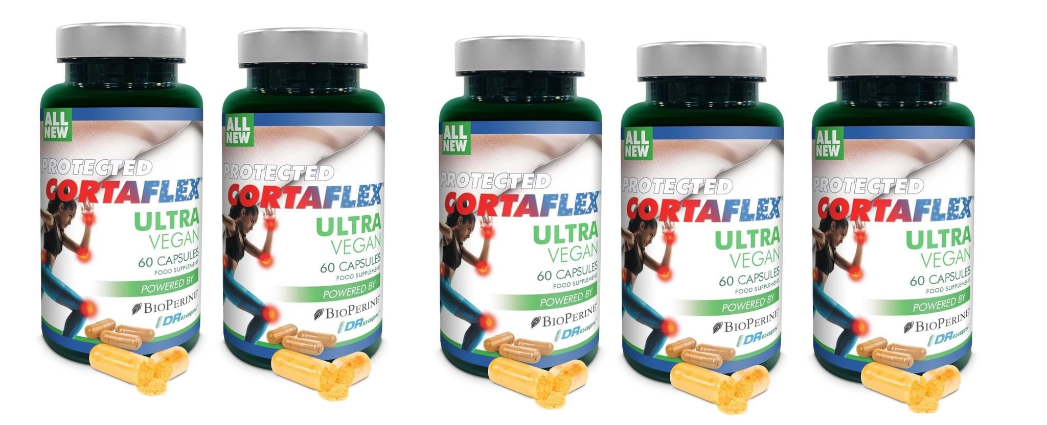 Dental Supps Protected Cortaflex Ultra Vegan, 60 Capsules, 5-packs