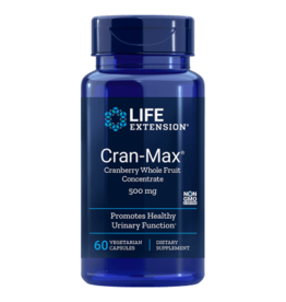 Life Extension Cran-Max Cranberry Extract, 500 mg 60 capsules