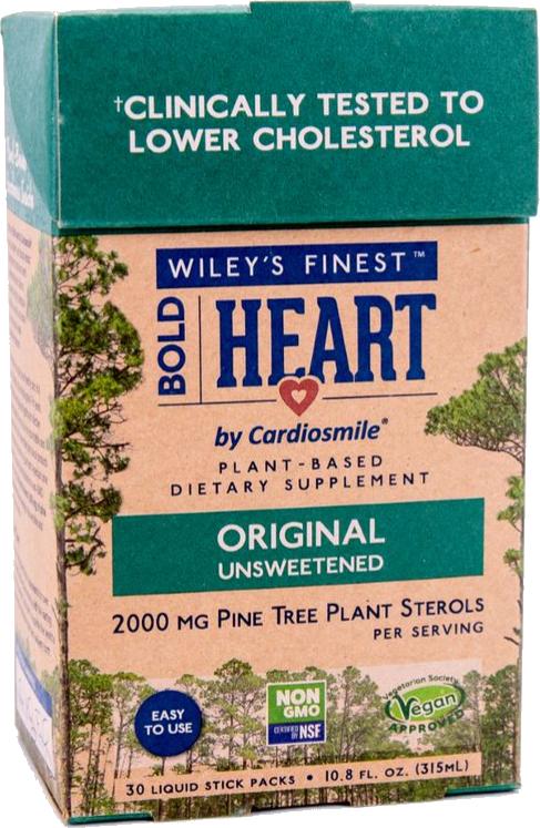 Wiley's Finest Bold Heart, 30 Liquid Stick Packs