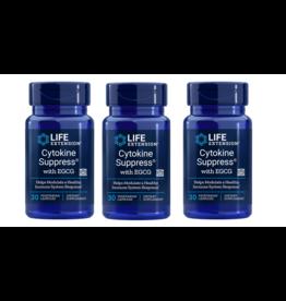 Life Extension Cytokine Suppress™, 30 Vegetarian Capsules, 3-pack