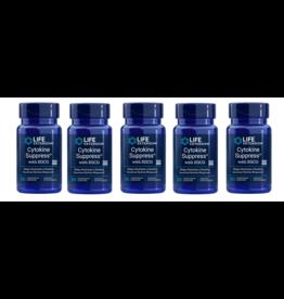 Life Extension Cytokine Suppress™, 30 Vegetarian Capsules, 5-pack