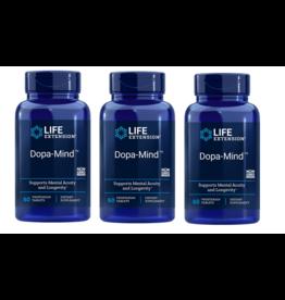 Life Extension Dopa-Mind, 60 Vegetarian Tablets, 3-pack