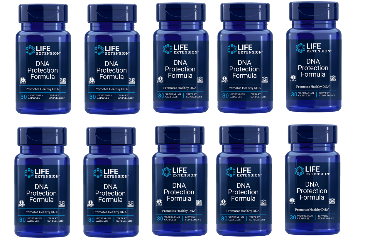 Life Extension DNA Protection Formula, 30 Vegetarian Capsules, 10-pack