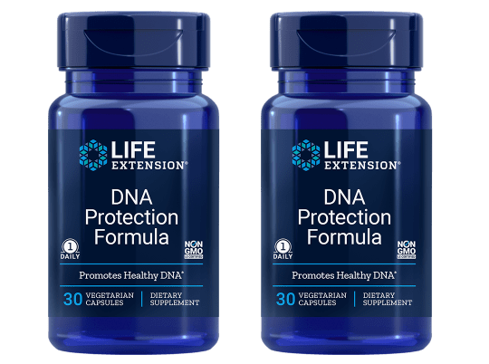 Life Extension DNA Protection Formula, 30 Vegetarian Capsules, 2-pack