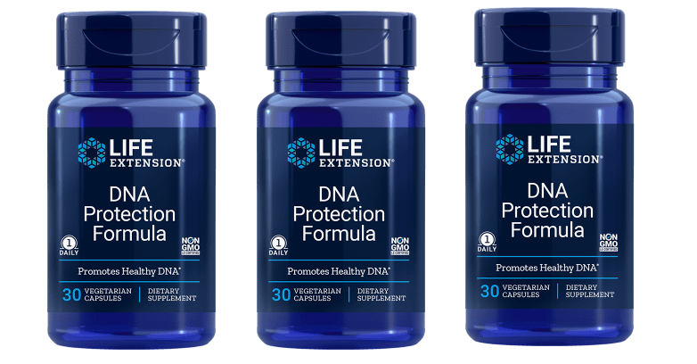 Life Extension DNA Protection Formula, 30 Vegetarian Capsules, 3-pack