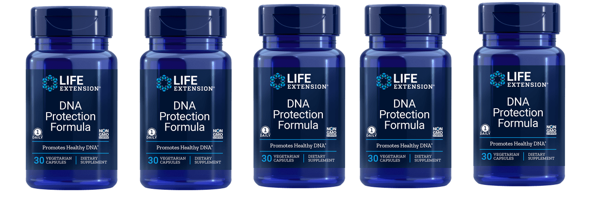 Life Extension DNA Protection Formula, 30 Vegetarian Capsules, 5-pack