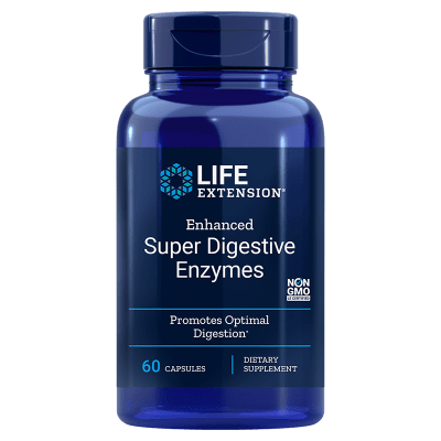 Life Extension Enhanced Super Digestive Enzymes, 60 vegetarian capsules