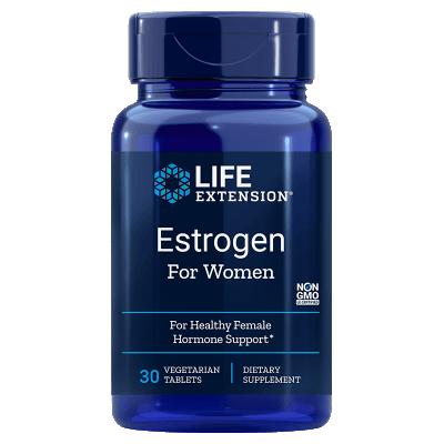 Life Extension Estrogen for Women, 30 Vegetarian Capsules