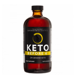 Quicksilver Scientific Keto Before 6™, 500ml