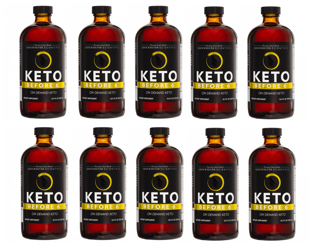 Quicksilver Scientific Keto Before 6™, 500ml, 10-pack