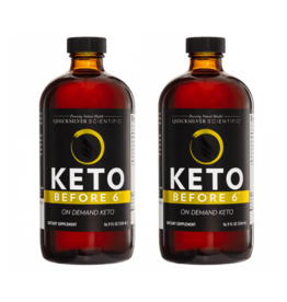 Quicksilver Scientific Keto Before 6™, 500ml, 2-pack