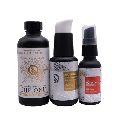 Quicksilver Scientific Energy And Longevity Bundle