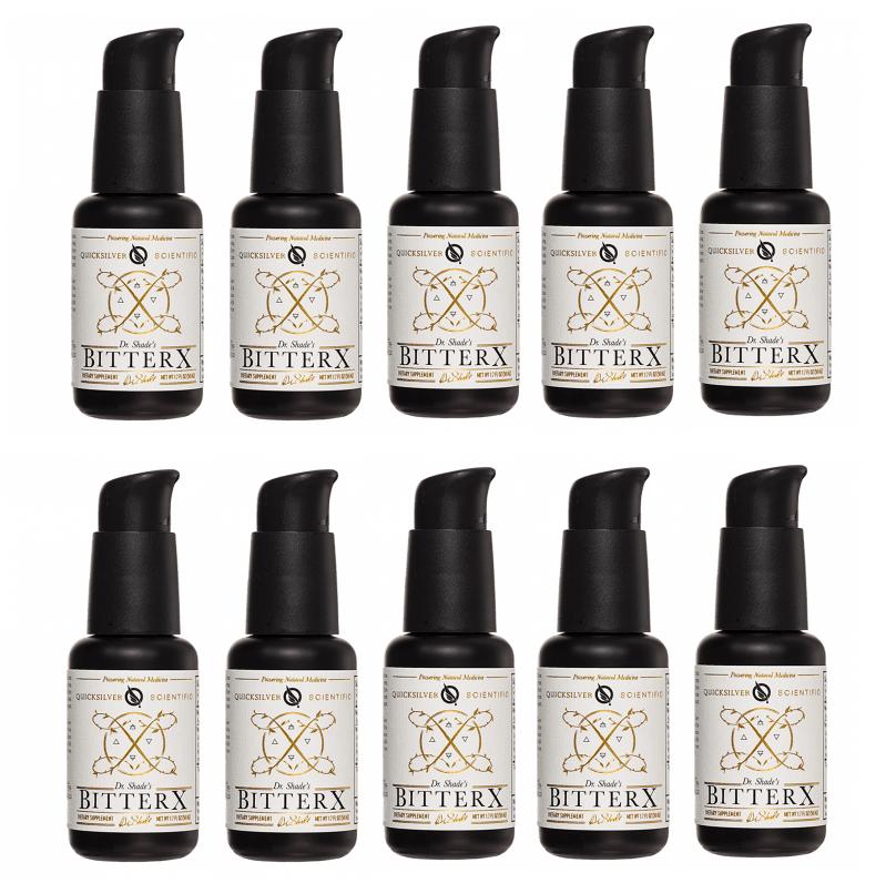 Quicksilver Scientific Dr. Shade's BitterX, 50 ml, 10-pack