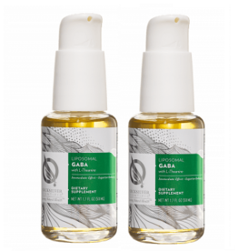 Quicksilver Scientific Liposomal GABA With L-theanine, 50 ml, 2-pack