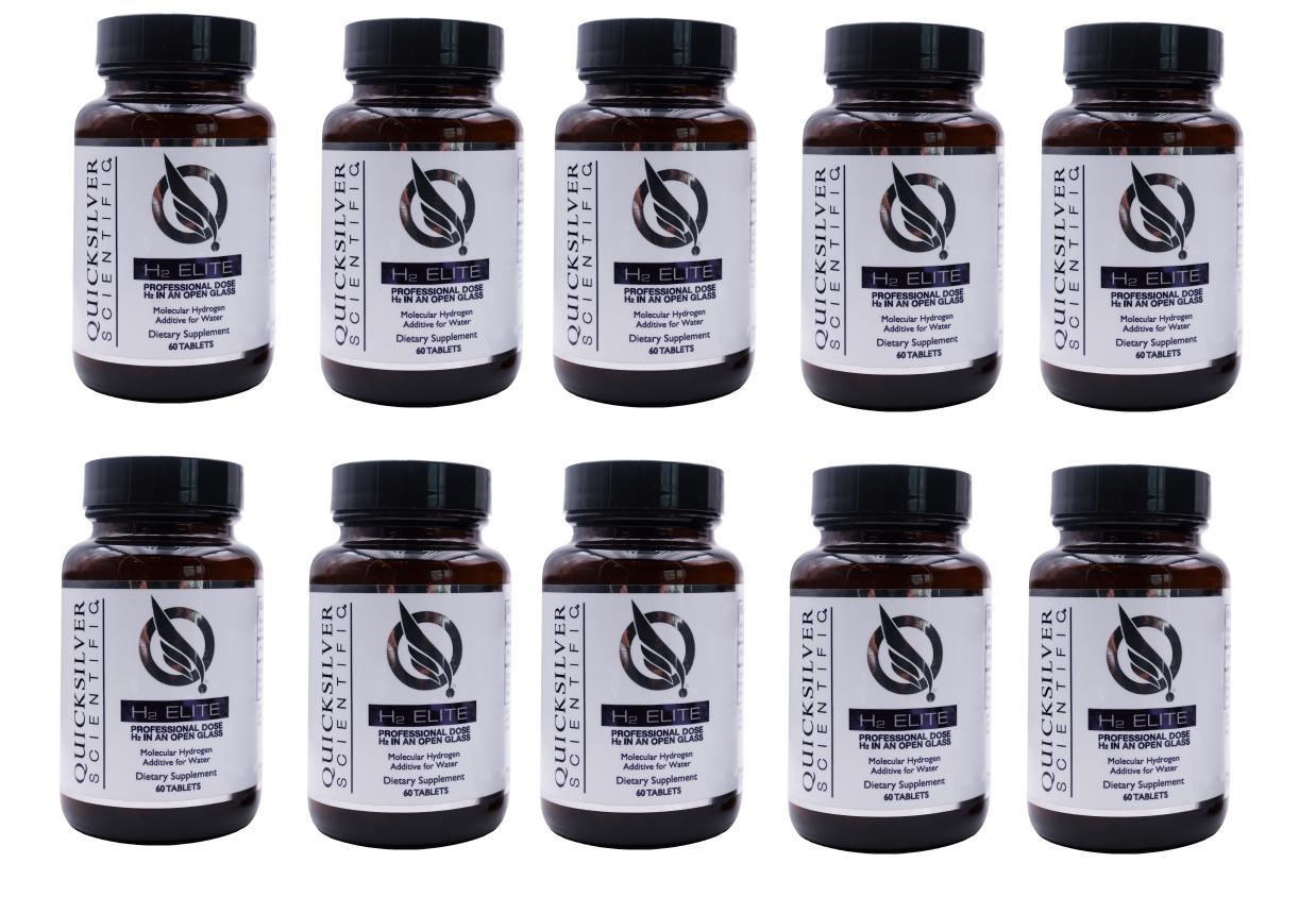 Quicksilver Scientific H2 Elite, 60 Tablets, 10-pack
