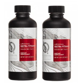 Quicksilver Scientific Liposomal Ultra Vitamin, 100 ml, 2-pack