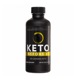 Quicksilver Scientific Keto Before 6™, 100ml