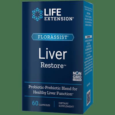 Life Extension Florassist® Liver Restore, 60 Capsules