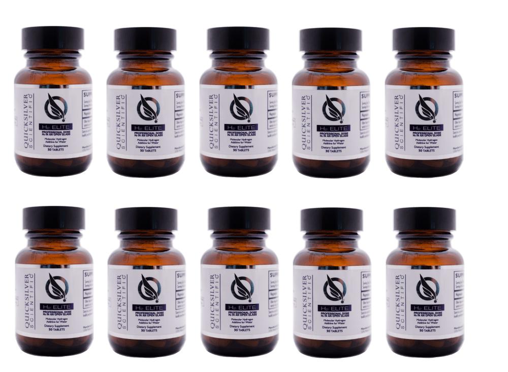 Quicksilver Scientific H2 Elite, 30 Tablets, 10-pack