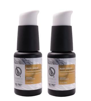 Quicksilver Scientific NAD+ Gold™, 30 ml, 2-pack
