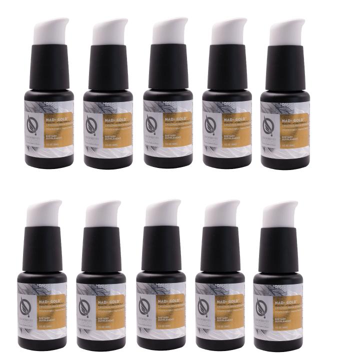Quicksilver Scientific NAD+ Gold™, 30 ml, 10-pack