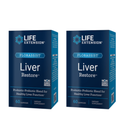 Life Extension Florassist® Liver Restore, 60 Capsules, 2-pack