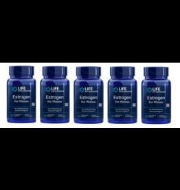 Life Extension Estrogen For Women, 30 Vegetarian Capsules, 5-pack